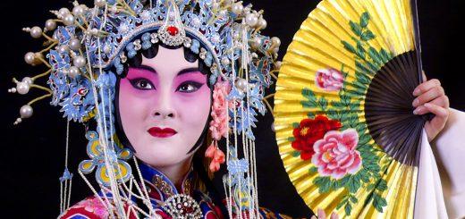 Chinese opera ward round. Image by shengjingyoujian - from flickr