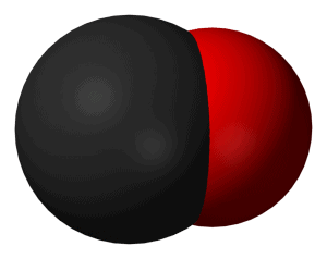Carbon monoxide molecule