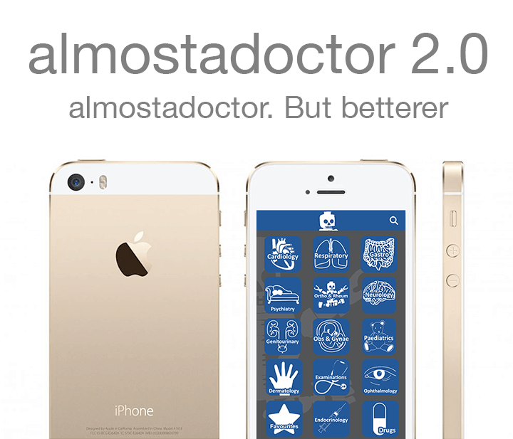 almostadoctor 2.0 out now!
