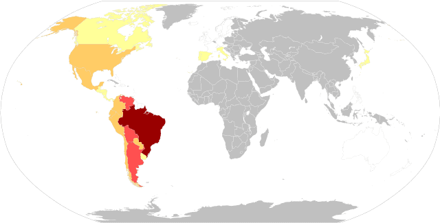Chagas Disease geographical distribution