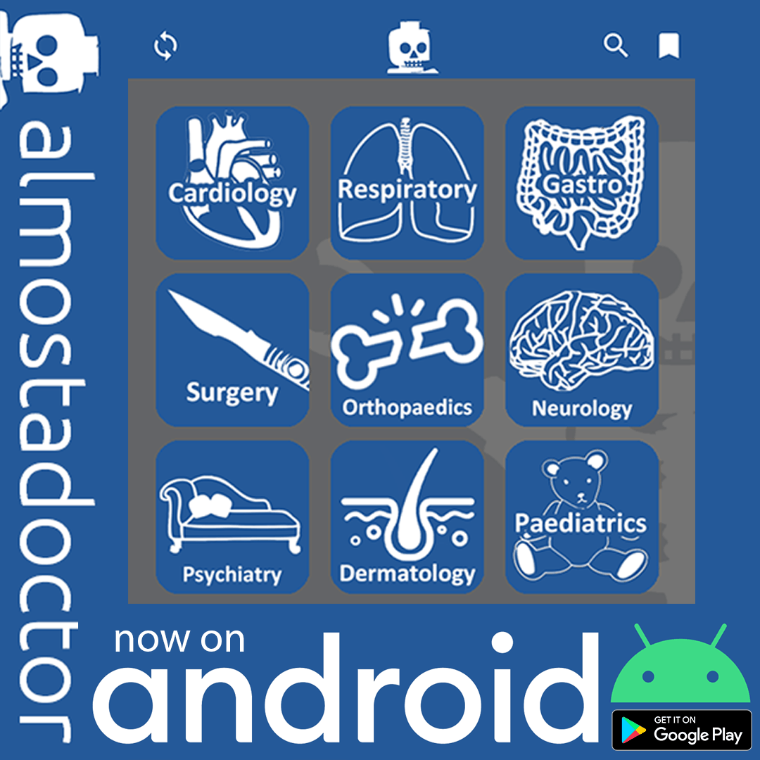 almostadoctor now available on android!
